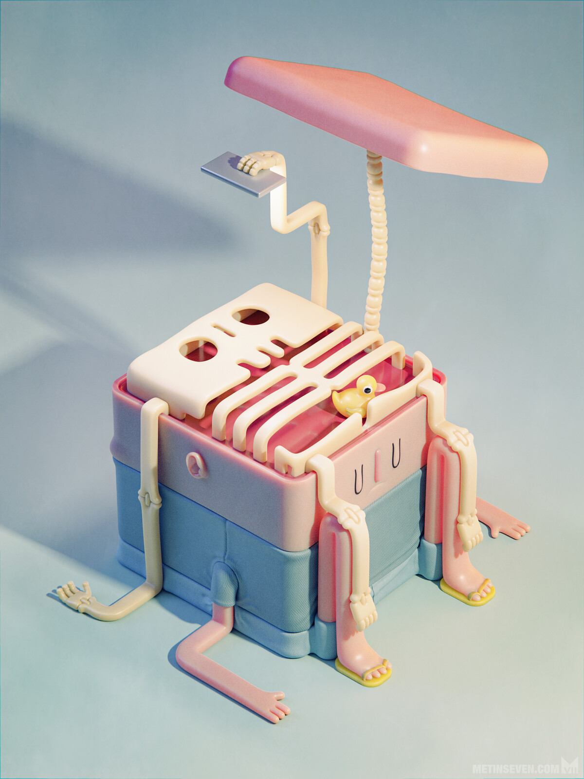 Isometric 3D illustrations