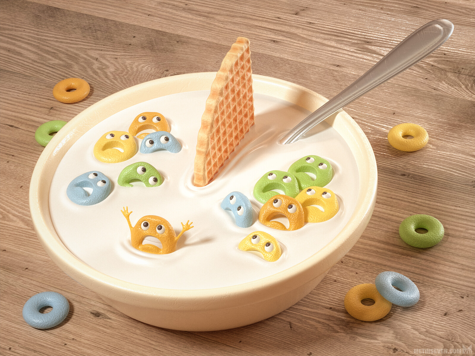 Cereal killer | Concept: Piper Thibodeau