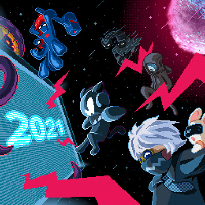 Alex illustration monstercat end year 2020 final by alex illustration