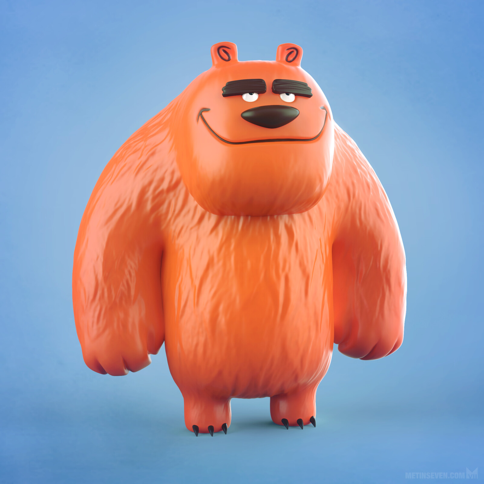 Cartoony bear toy design | Concept: James Burks
