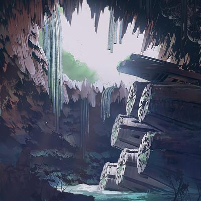 Filippo baracchi cave toon