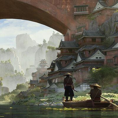 Stefan morrell bridge town