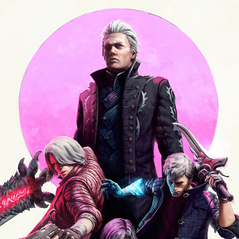 Devil May Cry 5 Poster