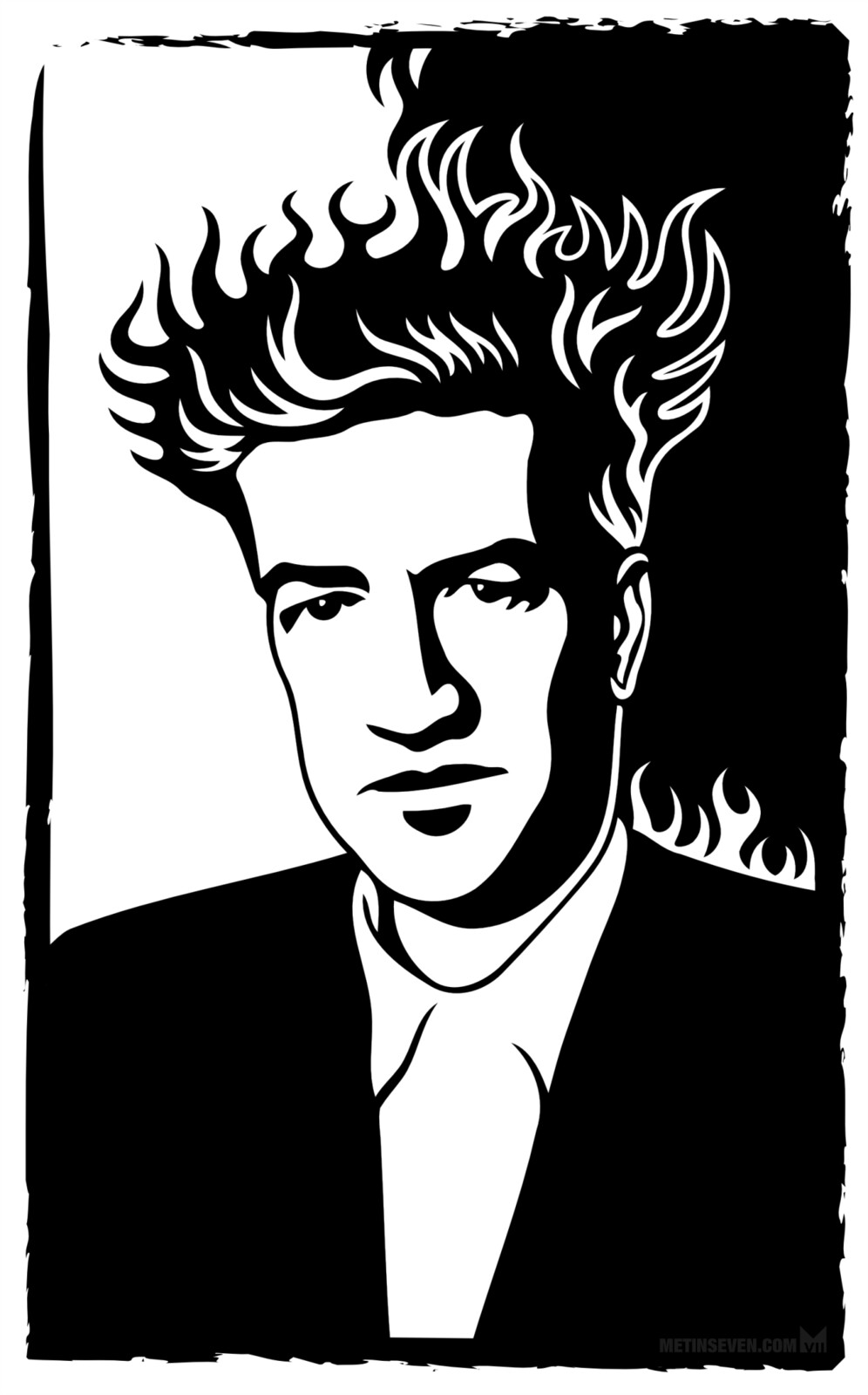 Portrait of David Lynch, the Picasso of film
