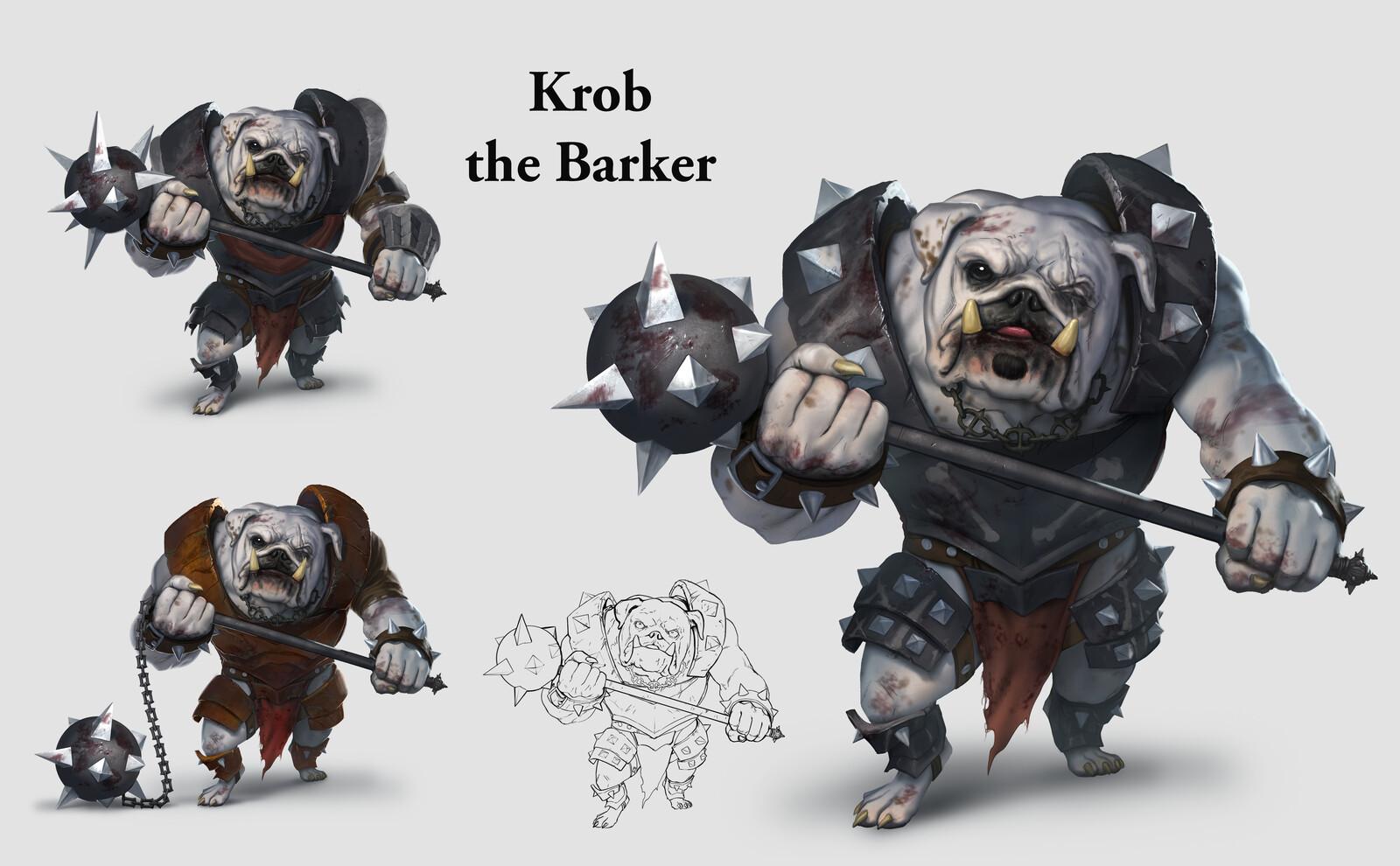 Krob the Barker