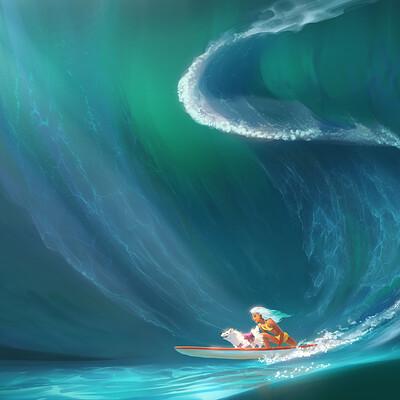 Godwin akpan surfing02