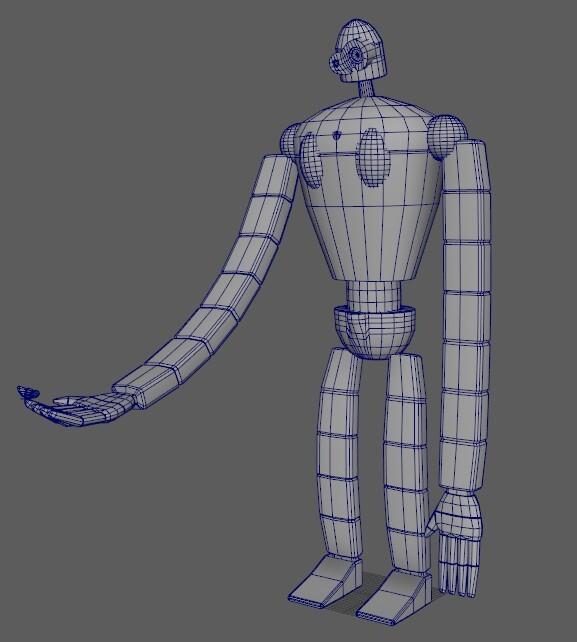 Robot mesh