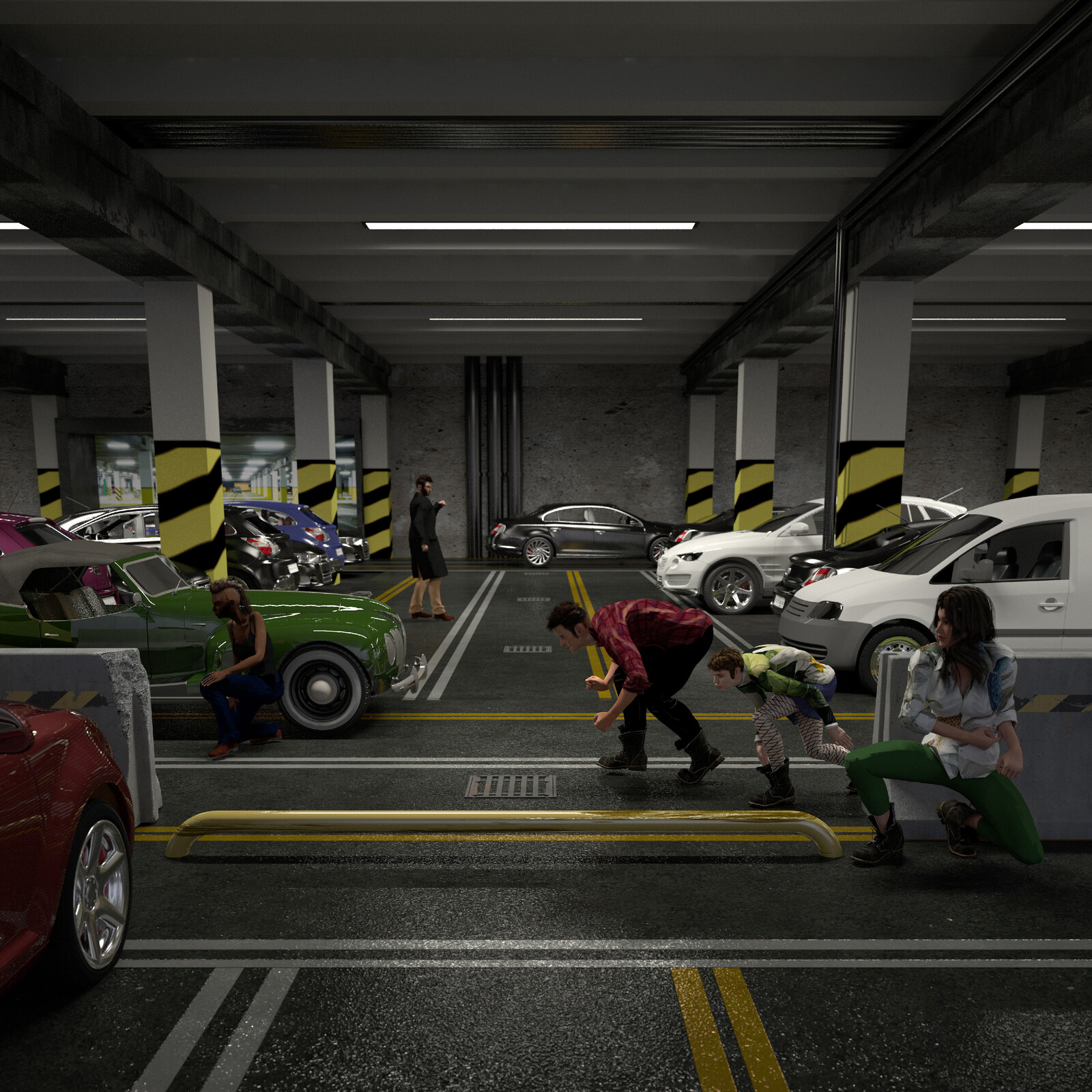 parking illustration