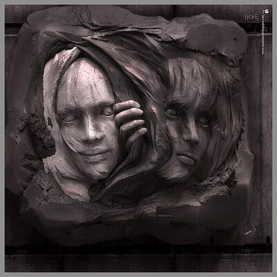 Surajit sen hope digital sculpture surajitsen 31122020al