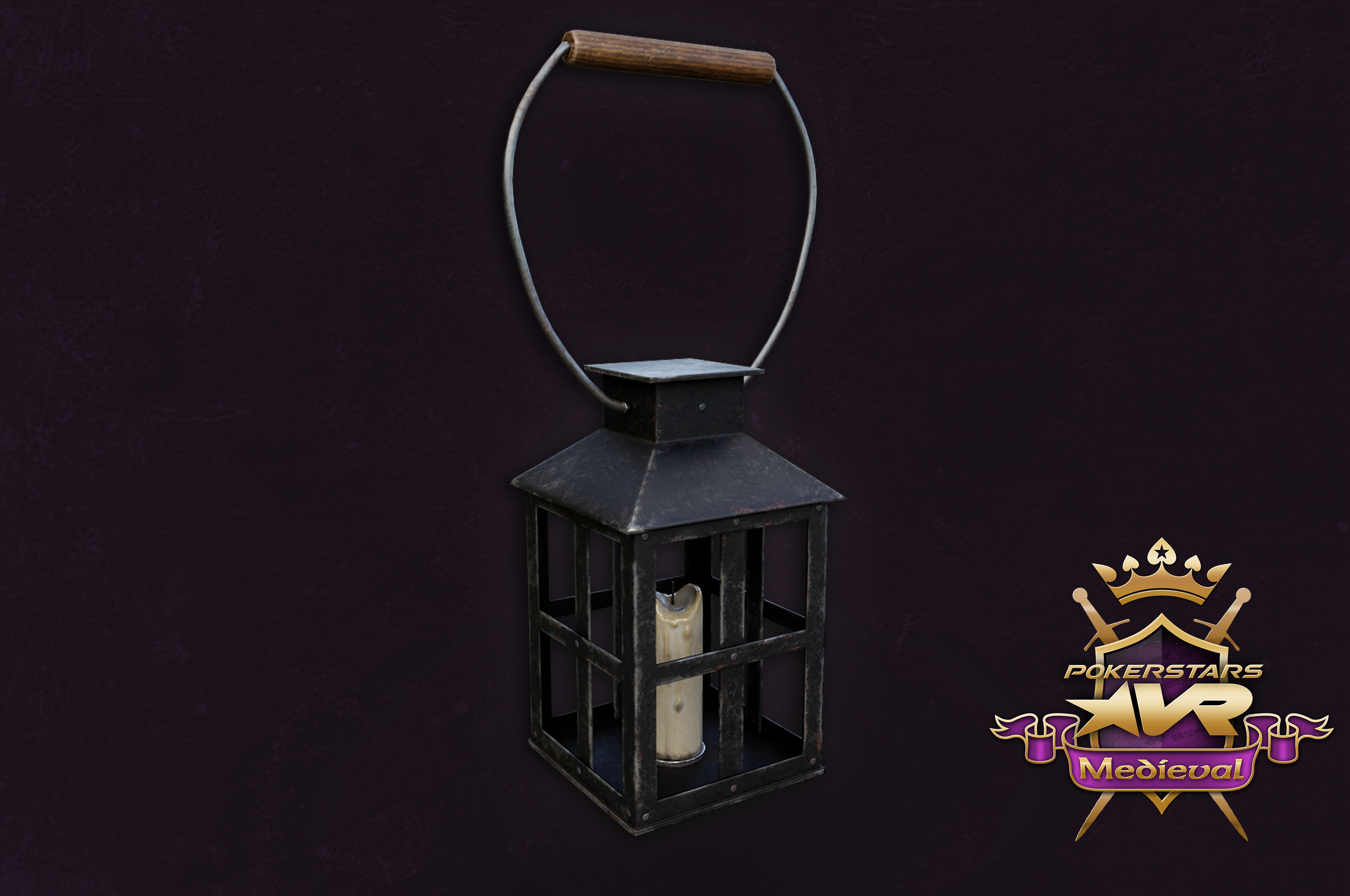 Lightable Lantern with handle.