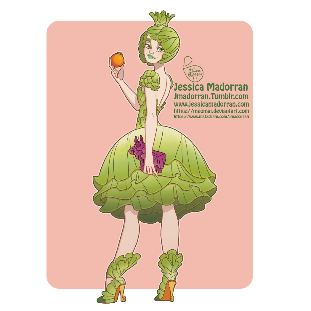 Draw This in Your Style - Princess Lettuce