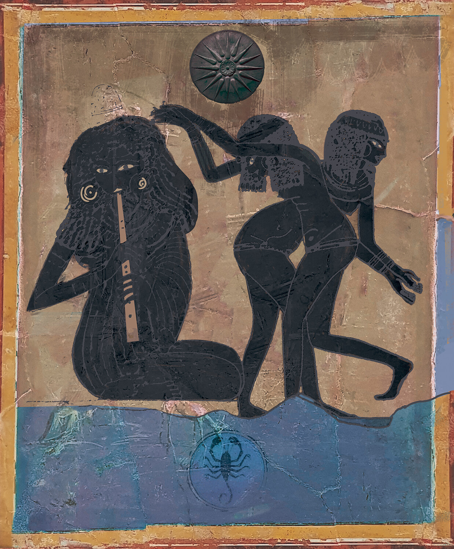 Myth of Erigonio Scorpiogenetes (Father of Scorpions)