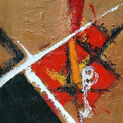 Daniele bontumasi muta azione trittico 50x60cm