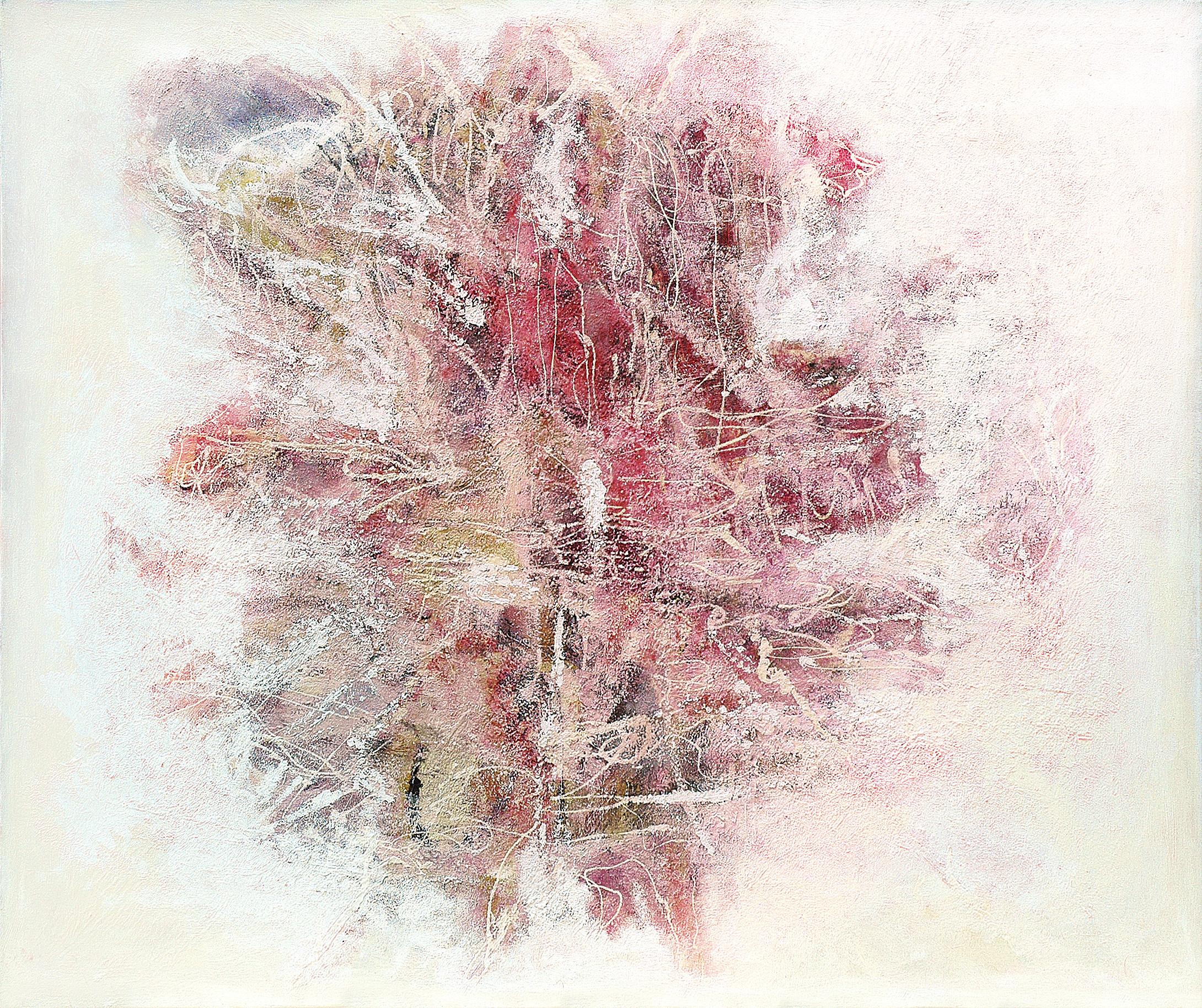 Carne_vale 100 x 120 oil varnish marble powder on canvas