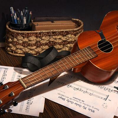 Alexander minze thumler ukulele stillleben small