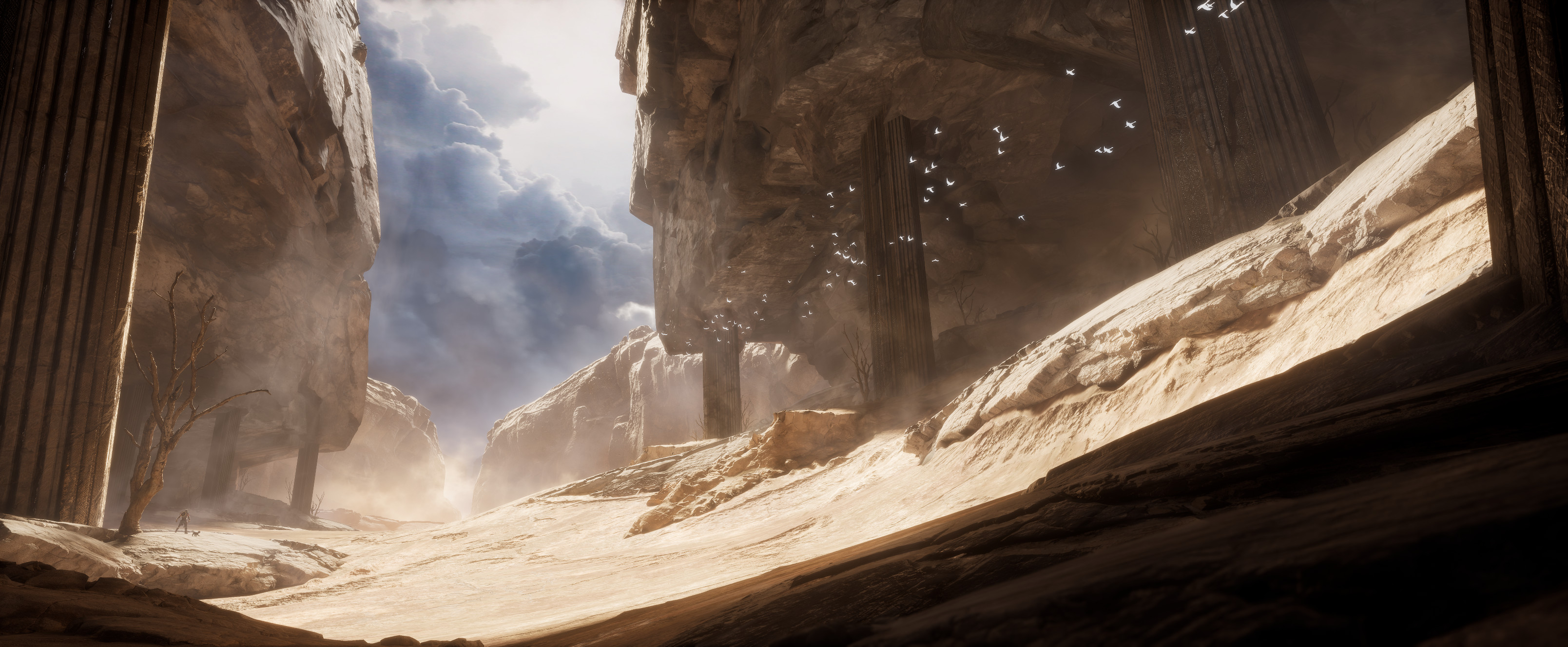 https://www.artstation.com/learning/courses/Vya/building-a-cinematic-environment-with-ue4/chapters/LDb7/intro
