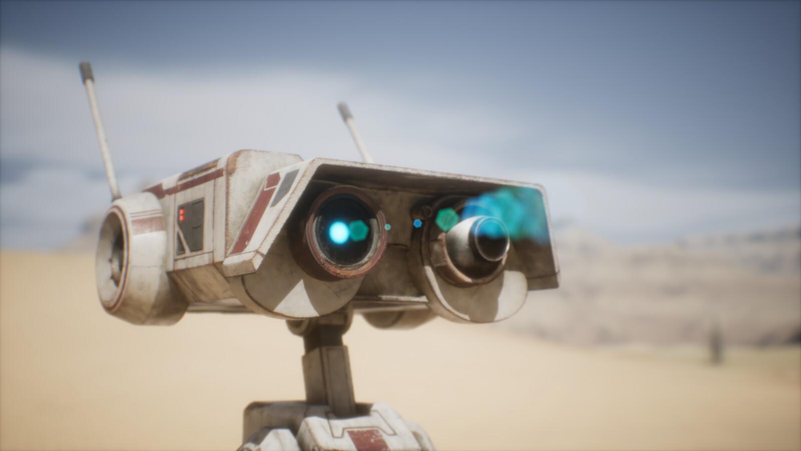 BD-1 Star Wars Fan Art