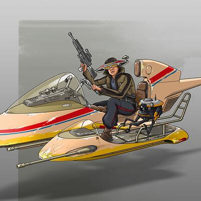Paul adams speeder 2