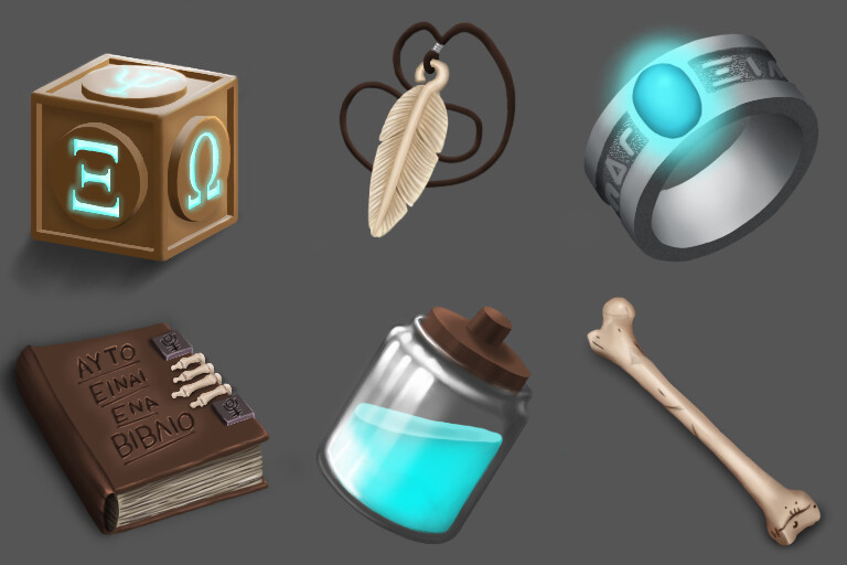 Game Art Icons