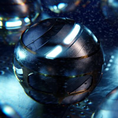 Taliesin river scifi balls smaller