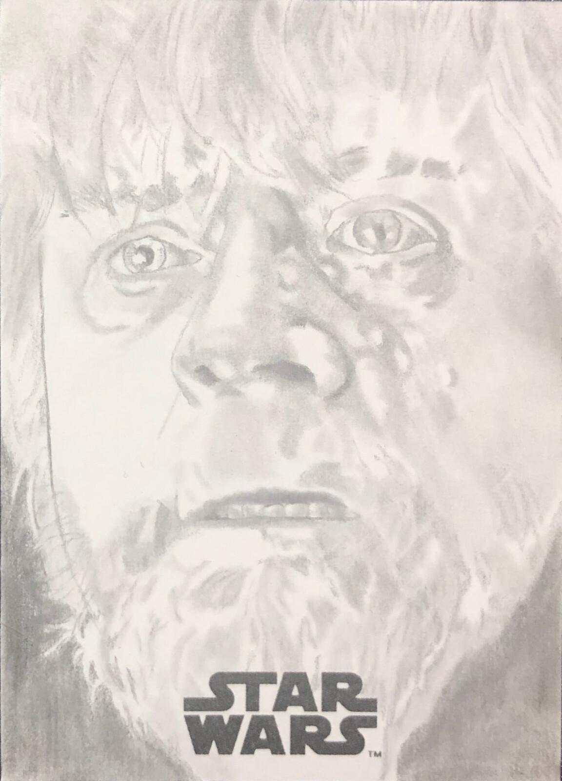 Luke Skywalker from The Last Jedi