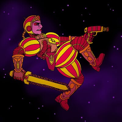 Ben evans spaceknight