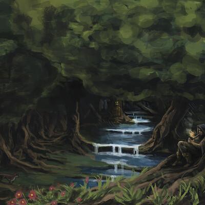 Martin estebani forest rain