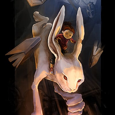 Alice in Wonderland - through the burrow