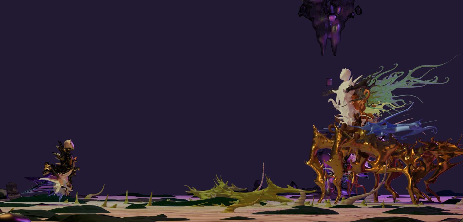 Fracta Celestial Animation