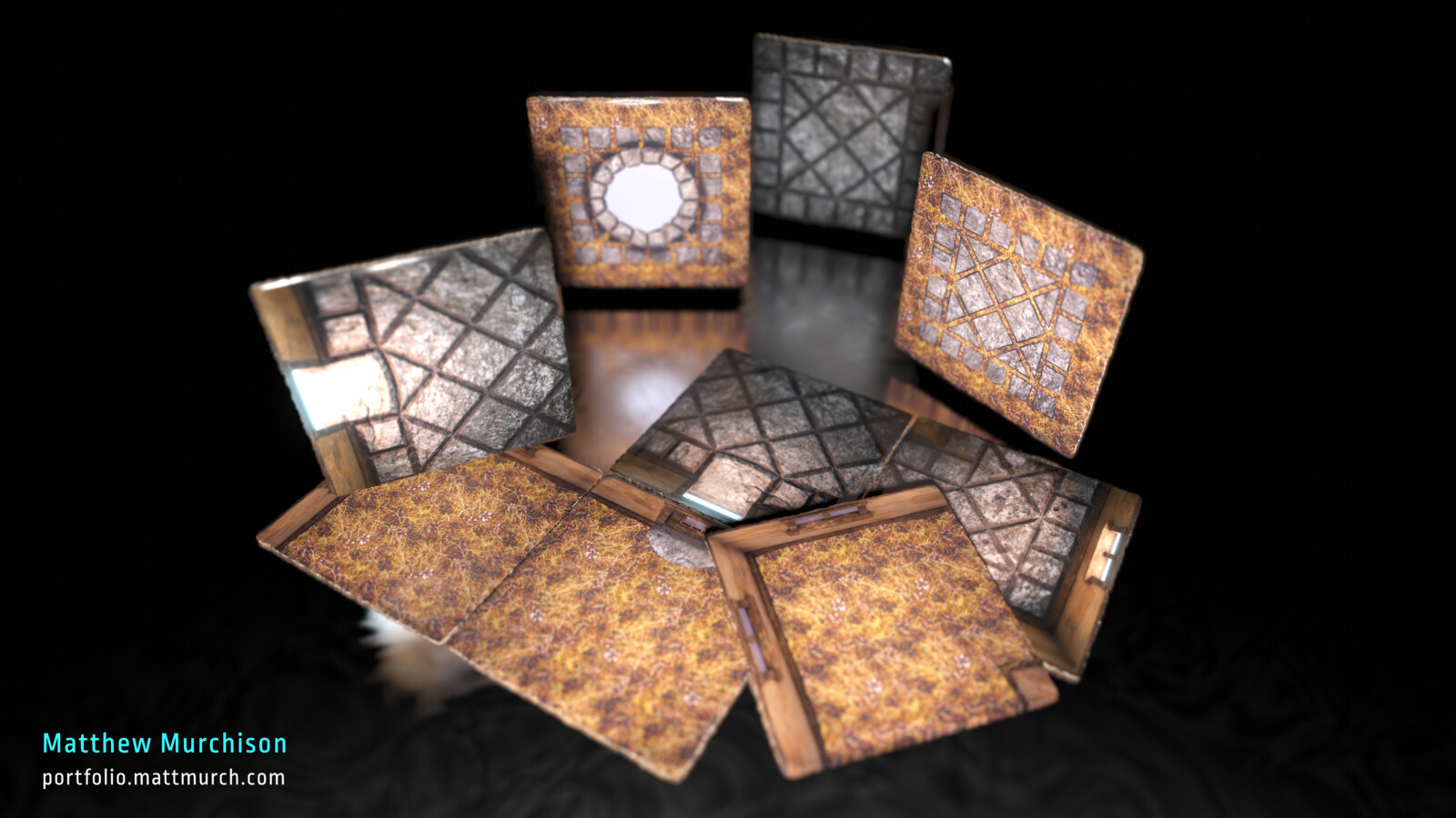 Medieval House Tiles