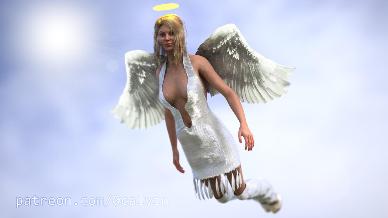 Phoebe Angel Realistic