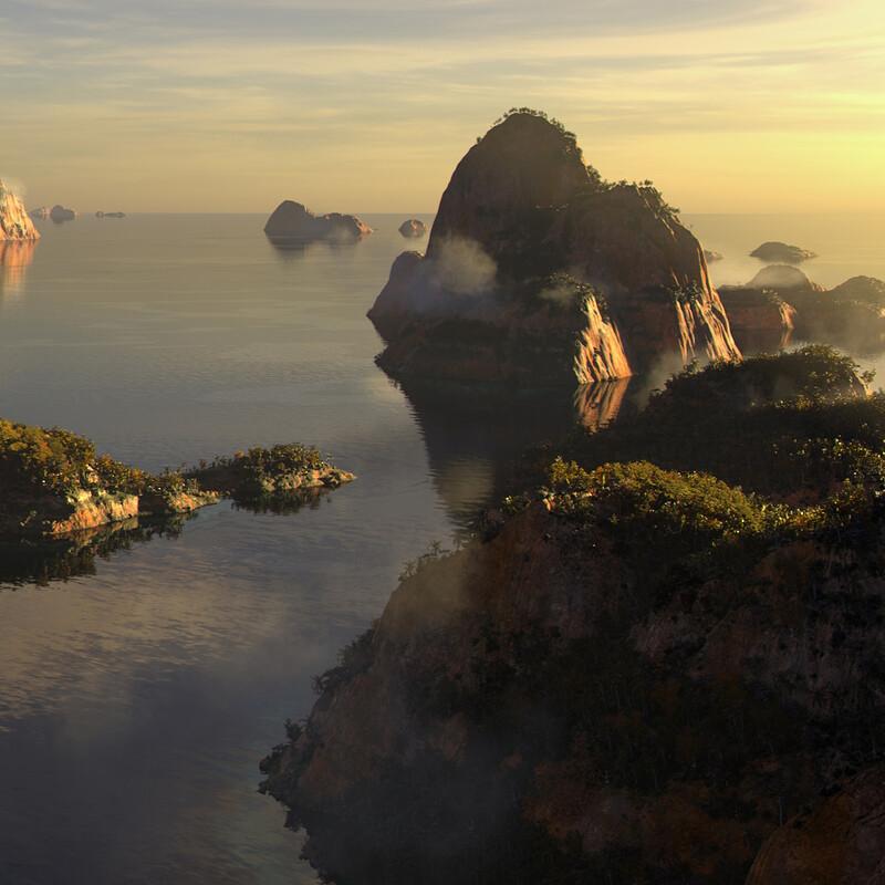 Islands - CG Environment