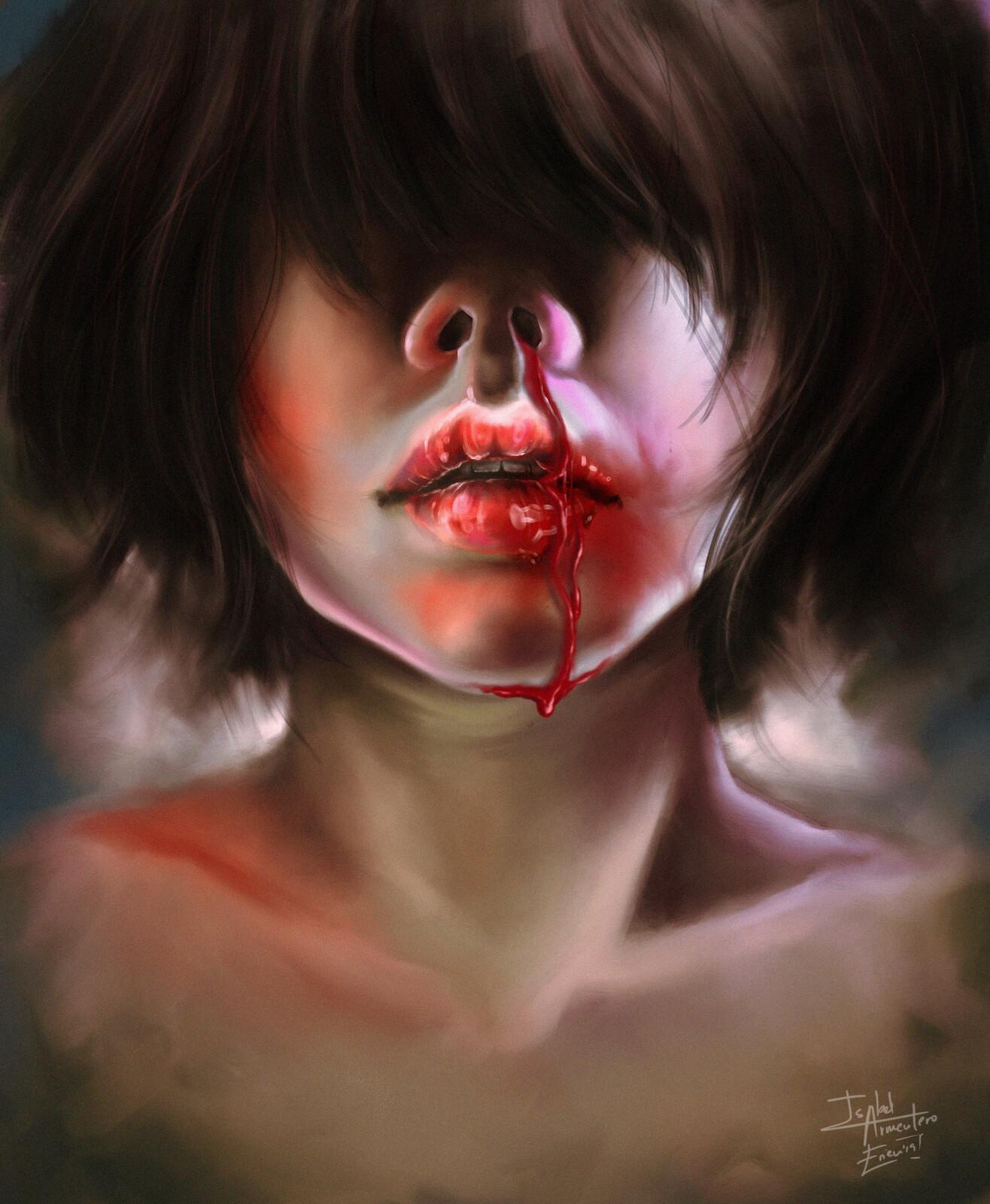 Illustration // Bleeding