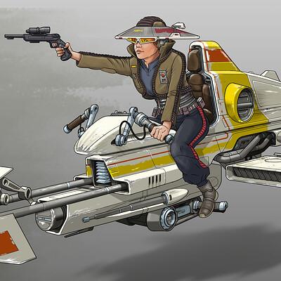Paul adams speeder 4