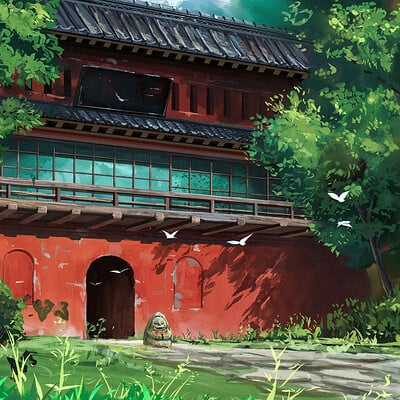 Daily Sketches- Ghibli