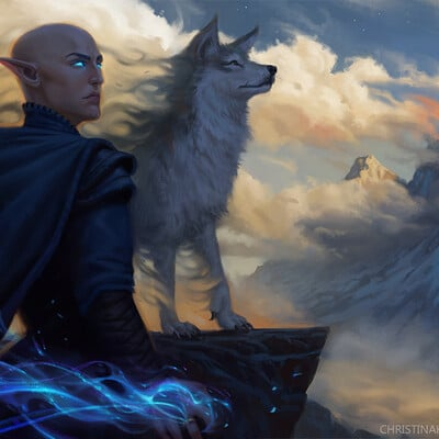 Christina kraus the wolf new