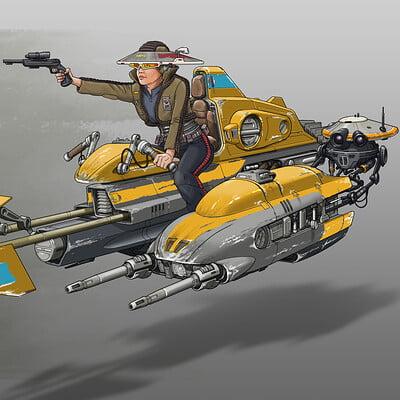 Paul adams speeder 6