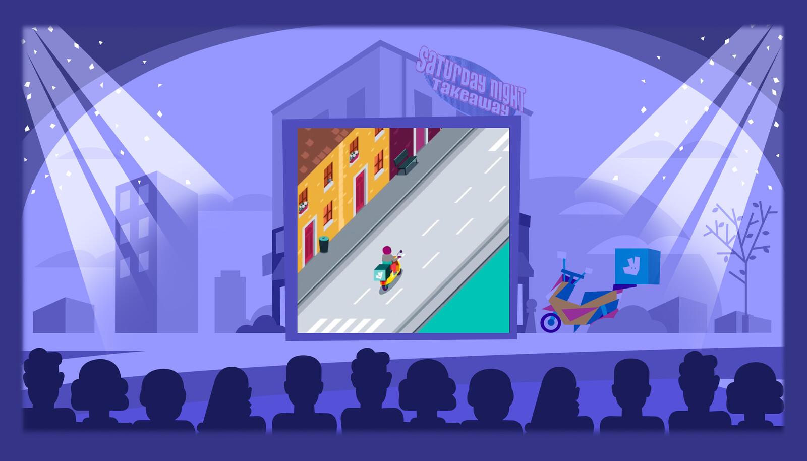 Réalisation de background pour la version desktop du jeu