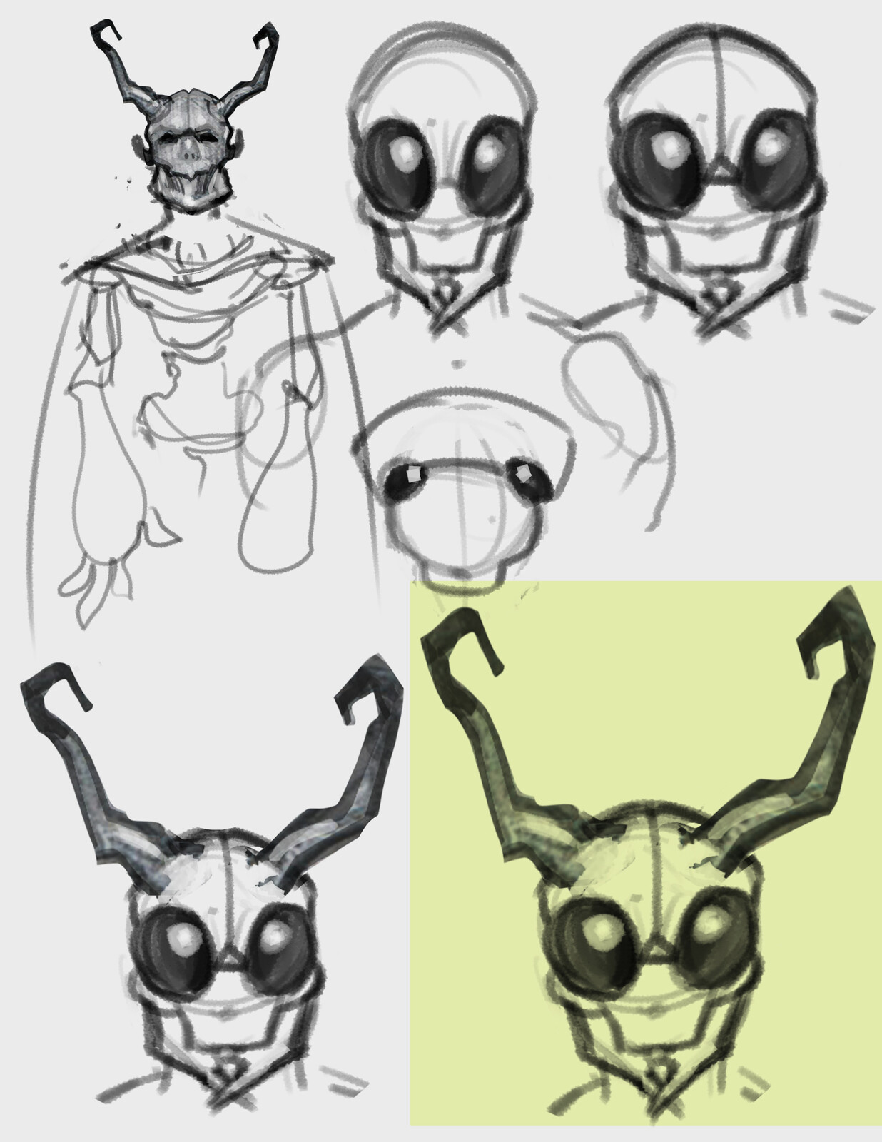 head sketches 2