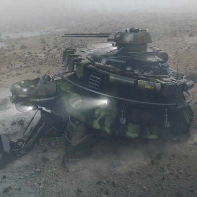 Encho enchev military turtle concept 1