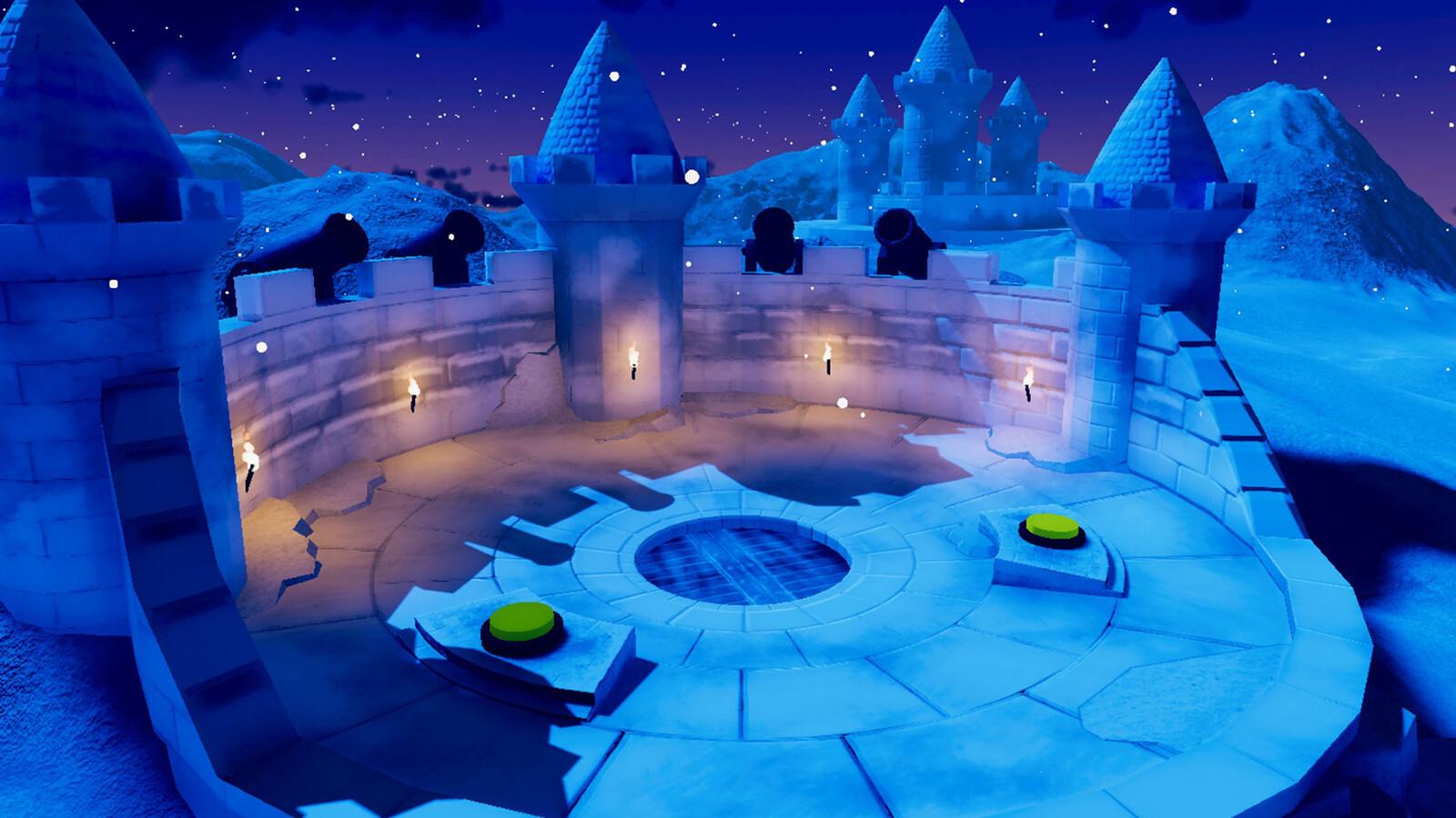 Castle Winter Event Version (Frozen Castle)