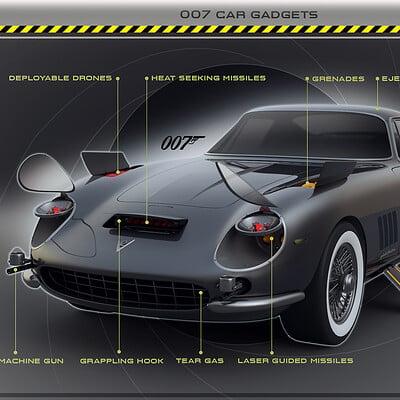 Encho enchev james bond car concept 1