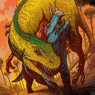 Francisco badilla corona de tyranosaurio