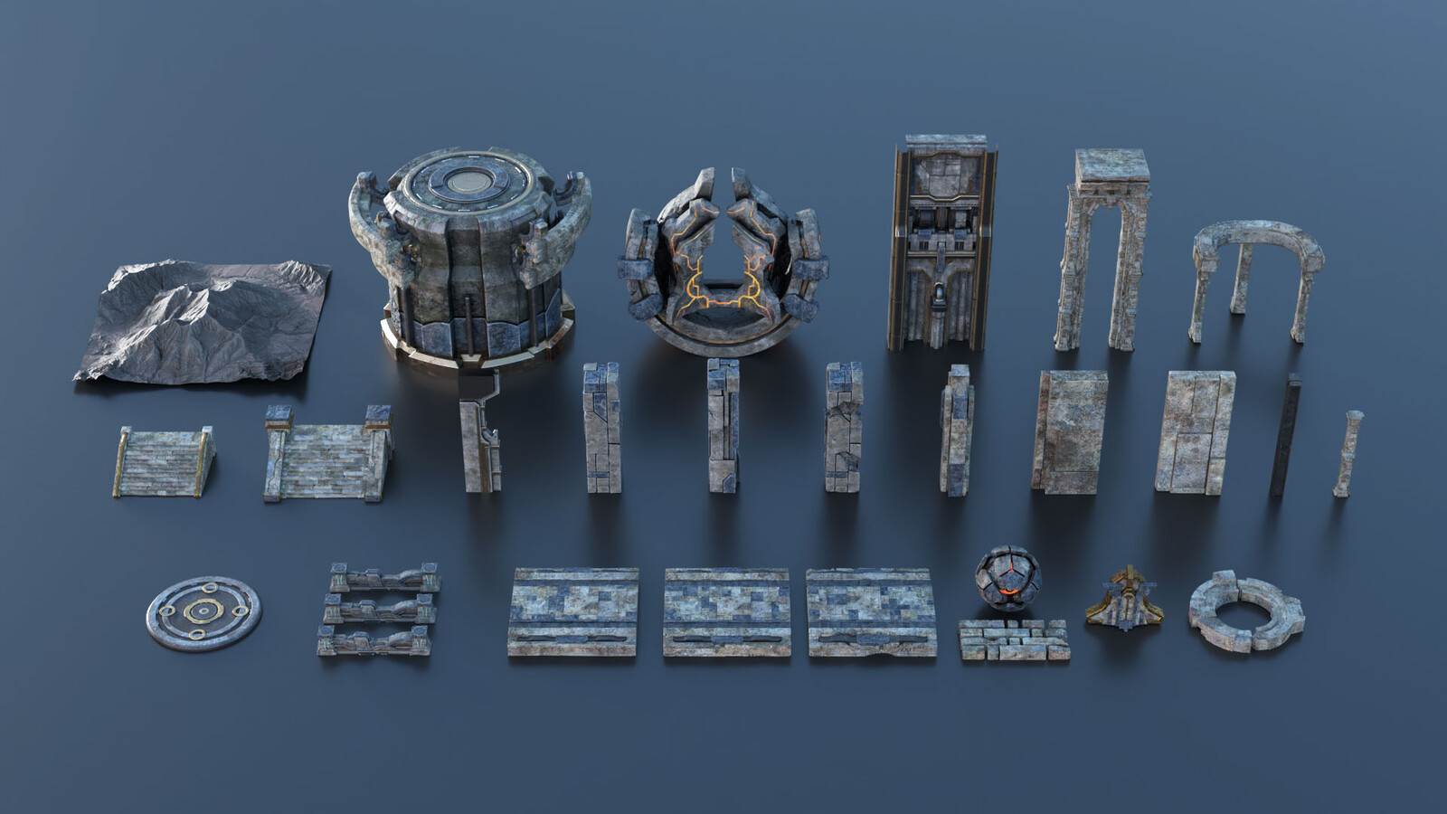 Modular Kits (You will get this kits after purchase the tutorial)