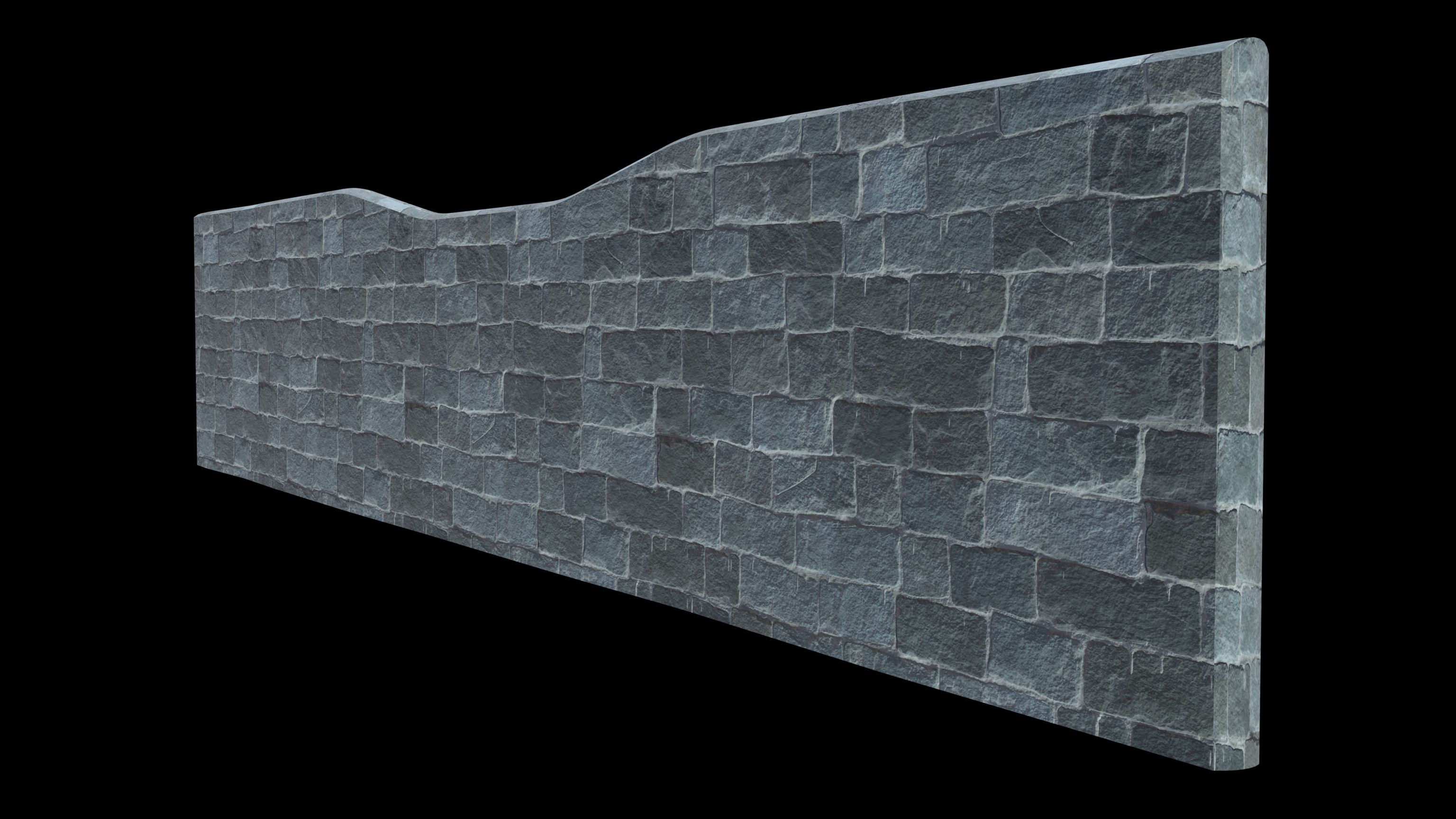 This is a quick example of how some of the newly developed materials render out