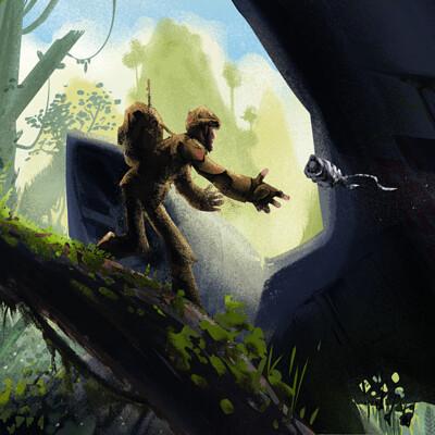 Amir dror jungle scene