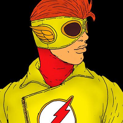 Ben evans kid flash