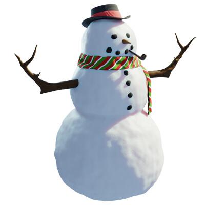 Sr snow man character