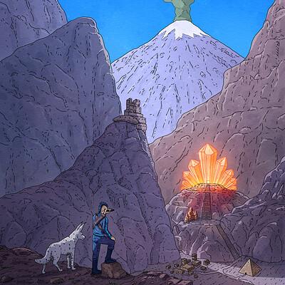 Kristall Templi Illustratsioon