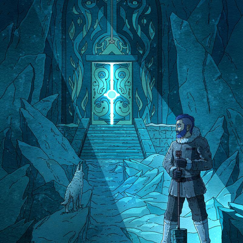 Peidetud Värav Illustratsioon